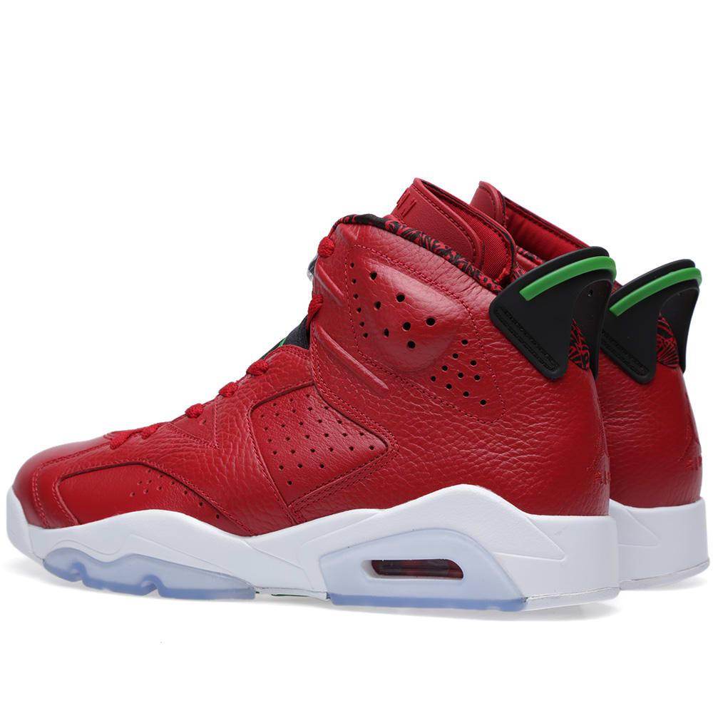 7b4bef6b7a5 Nike Air Jordan Vi Retro Spizike 'History of Jordan' Varsity Red & Classic  Green | END.
