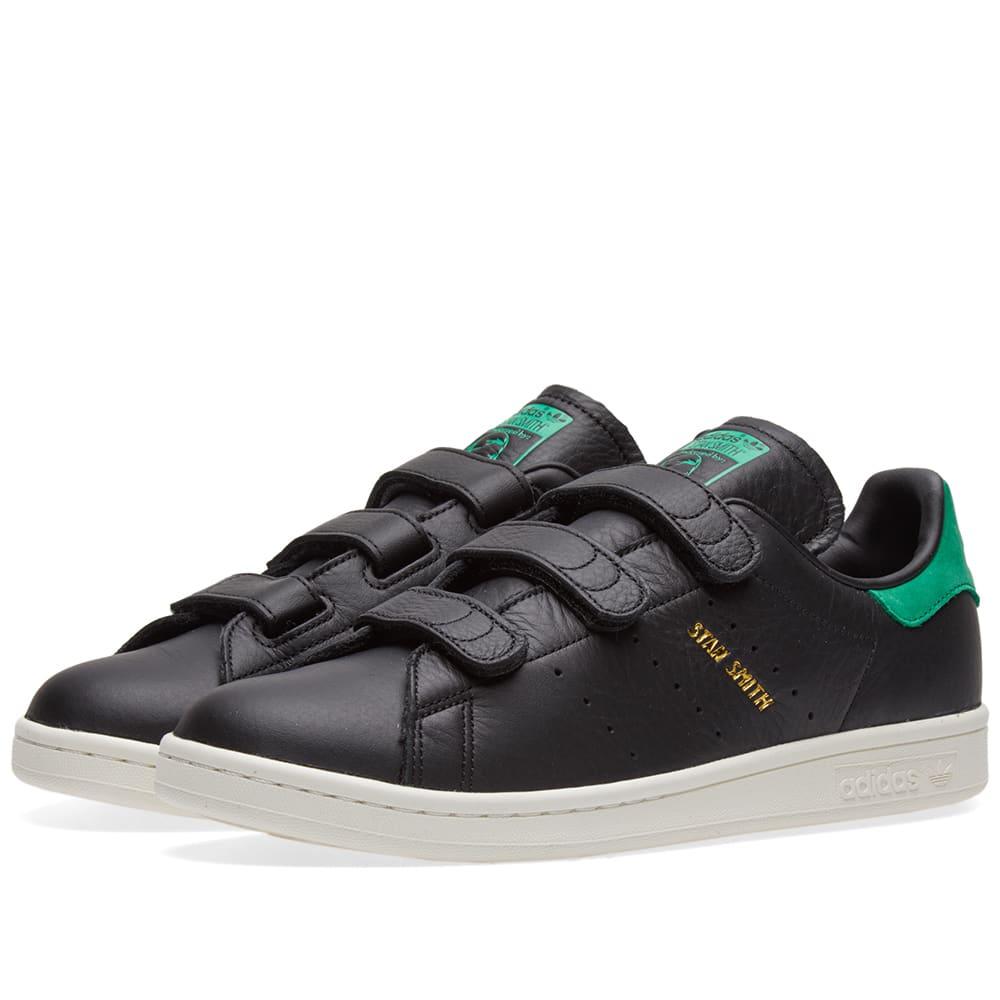 Adidas Stan Smith CF Core Black \u0026 Green