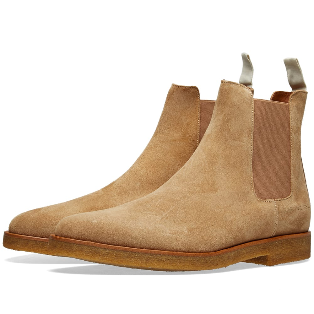 COMMON PROJECTS Chelsea Boots in Neutrals