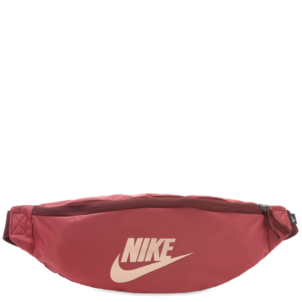 Nike Heritage Hip Pack In Red