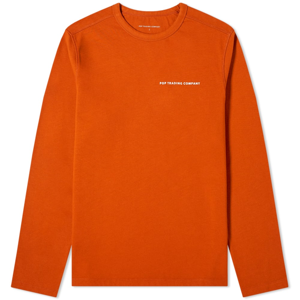 Pop Trading Company Long Sleeve Logo Tee