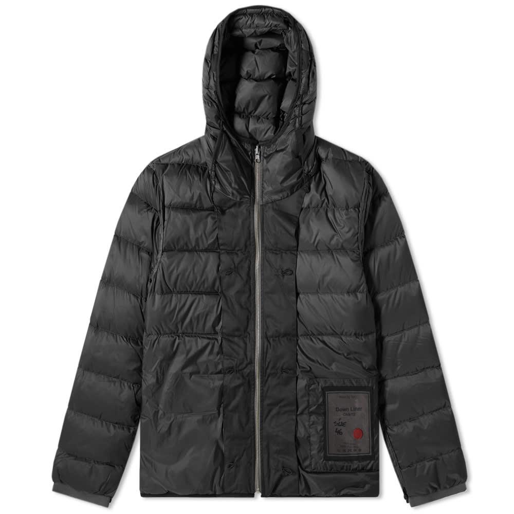 Ten C Hooded Pocket Down Liner by Ten C