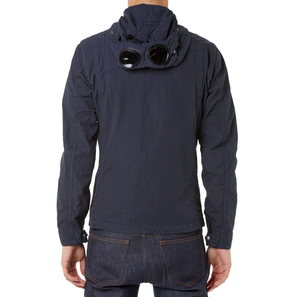 3e0de0086 C.P. Company Garment Dyed Goggle Overshirt