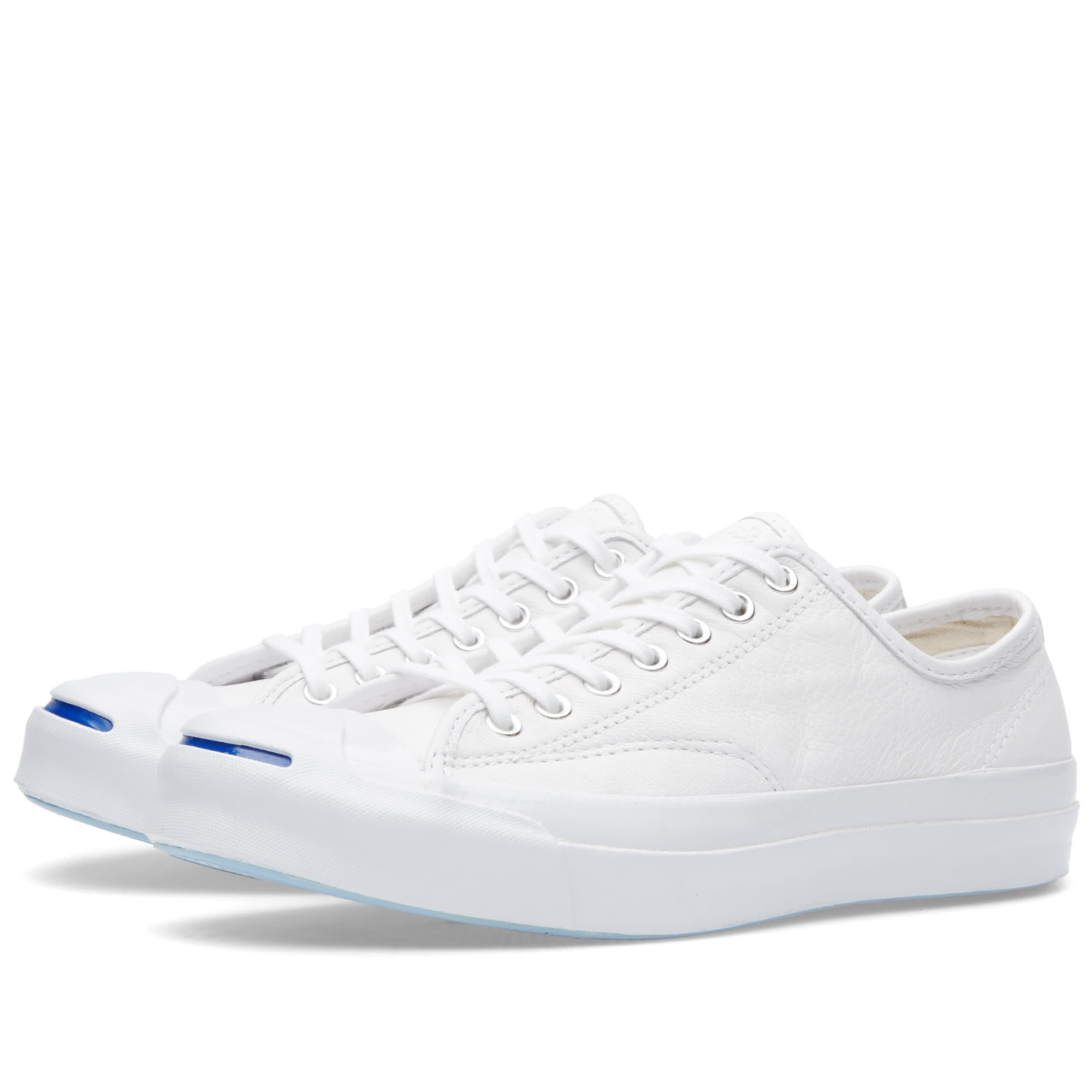 Converse Jack Purcell Signature Leather White Amp White
