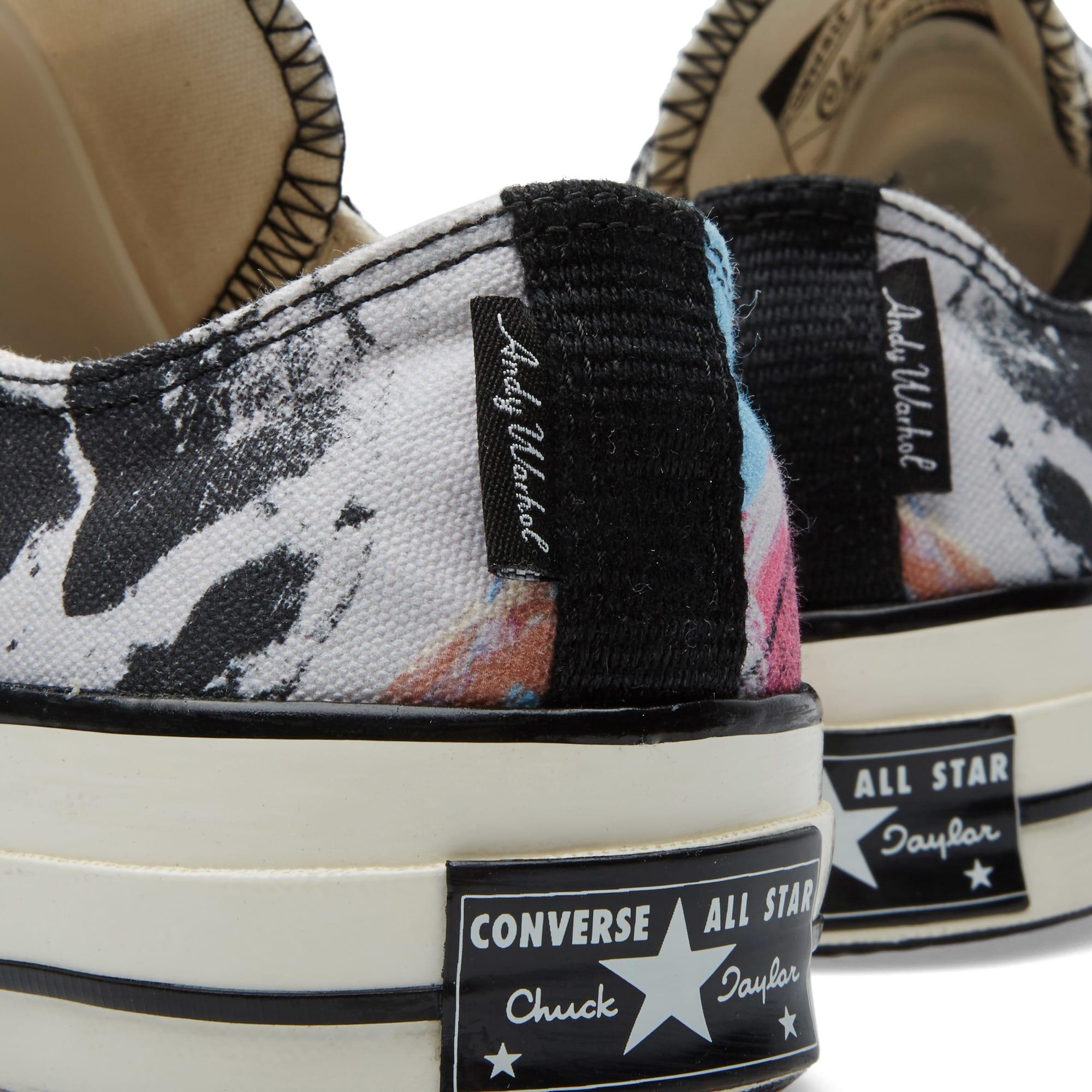 Andy Warhol Chuck Taylor 1970s Ox Pink