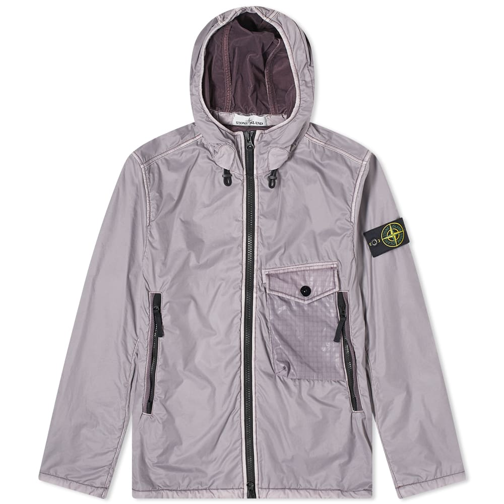 Stone Island Lamy Flock Hooded Jacket