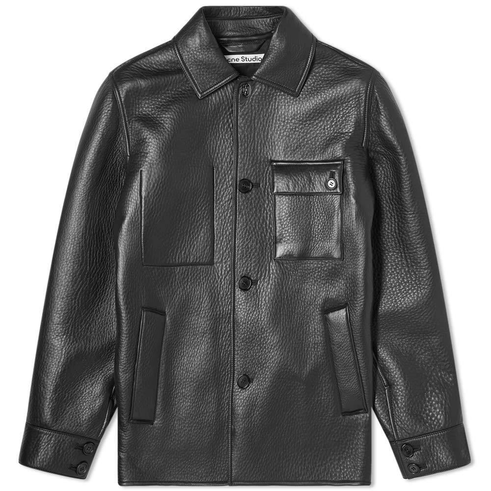 Acne Studios Acne Studios Lopris Bonded Leather Jacket