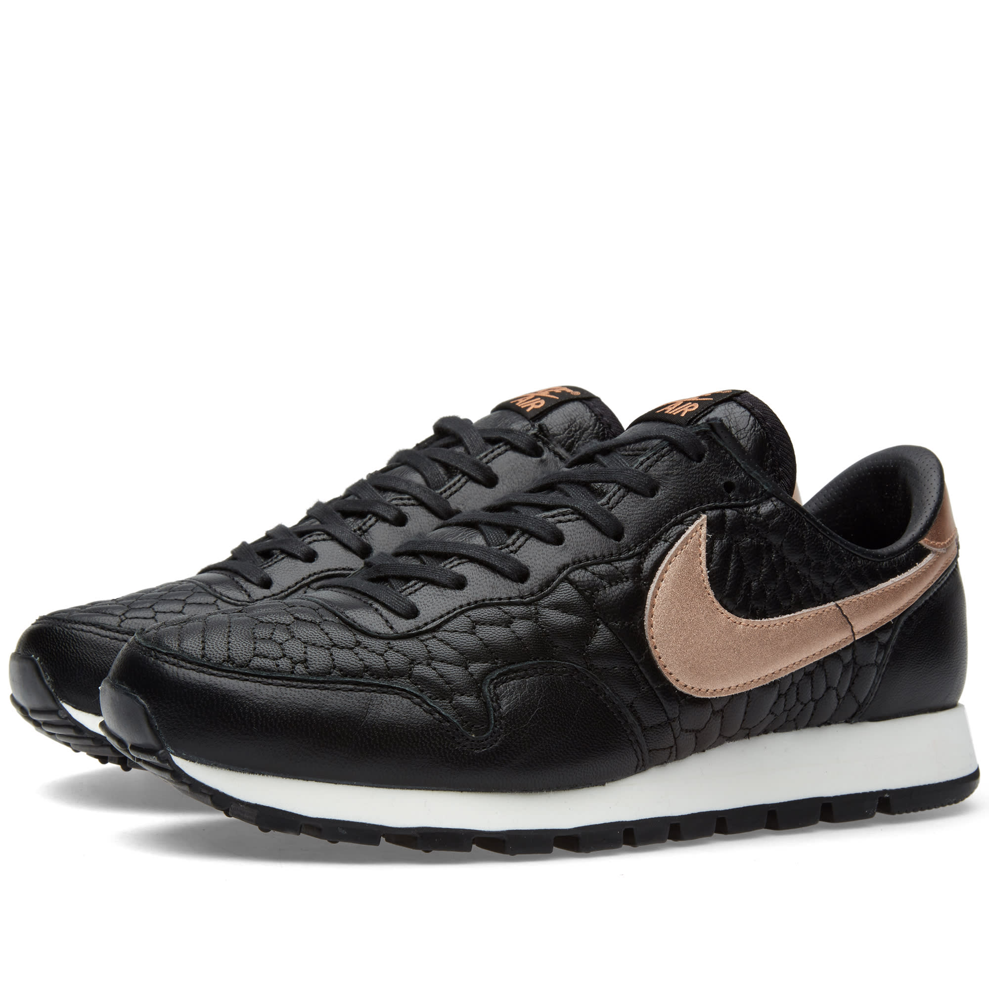 Geliefde Nike W Air Pegasus '83 Premium Quilt Black & Metallic Rose Gold | END. #GO85