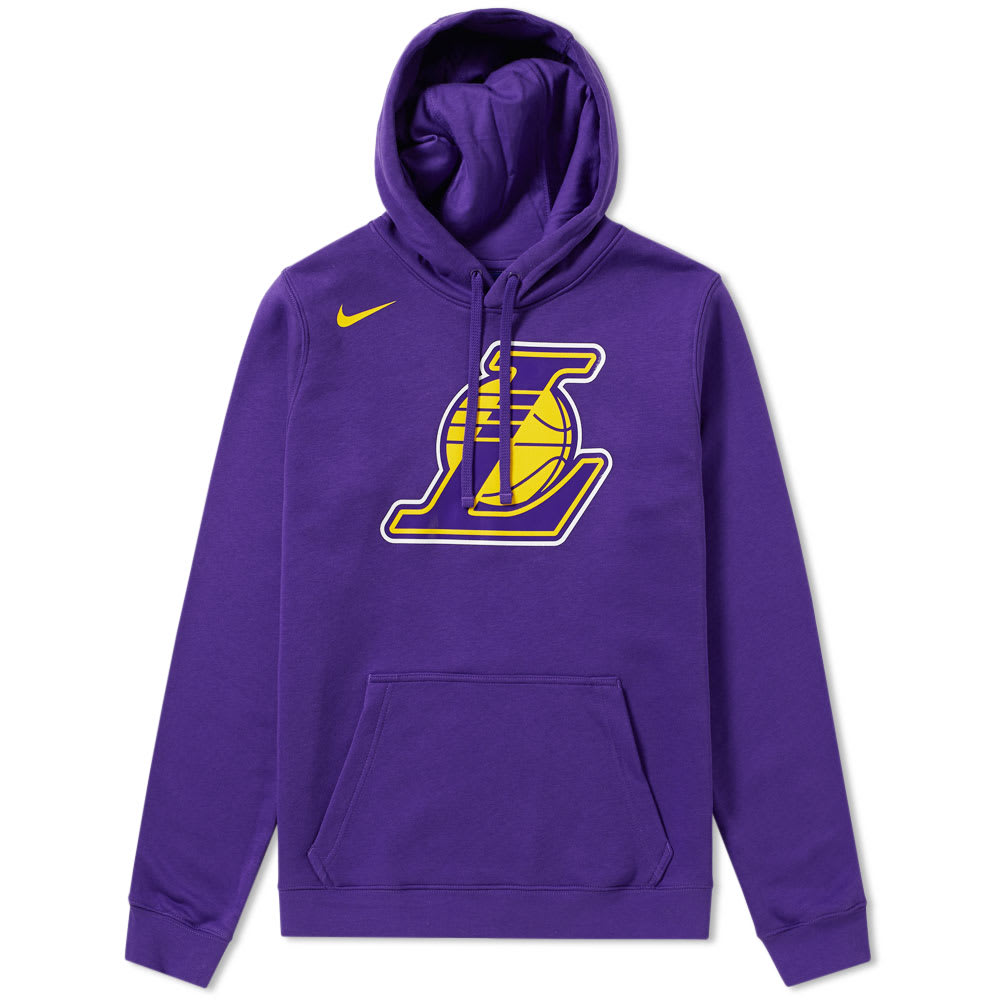 official photos cb040 a8f49 Nike Los Angeles Lakers Hoody