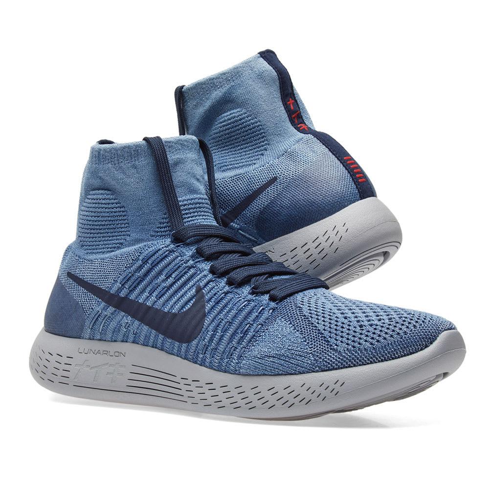 7be92ff5fc893 Nike LunarEpic Flyknit 1. Indigo ...