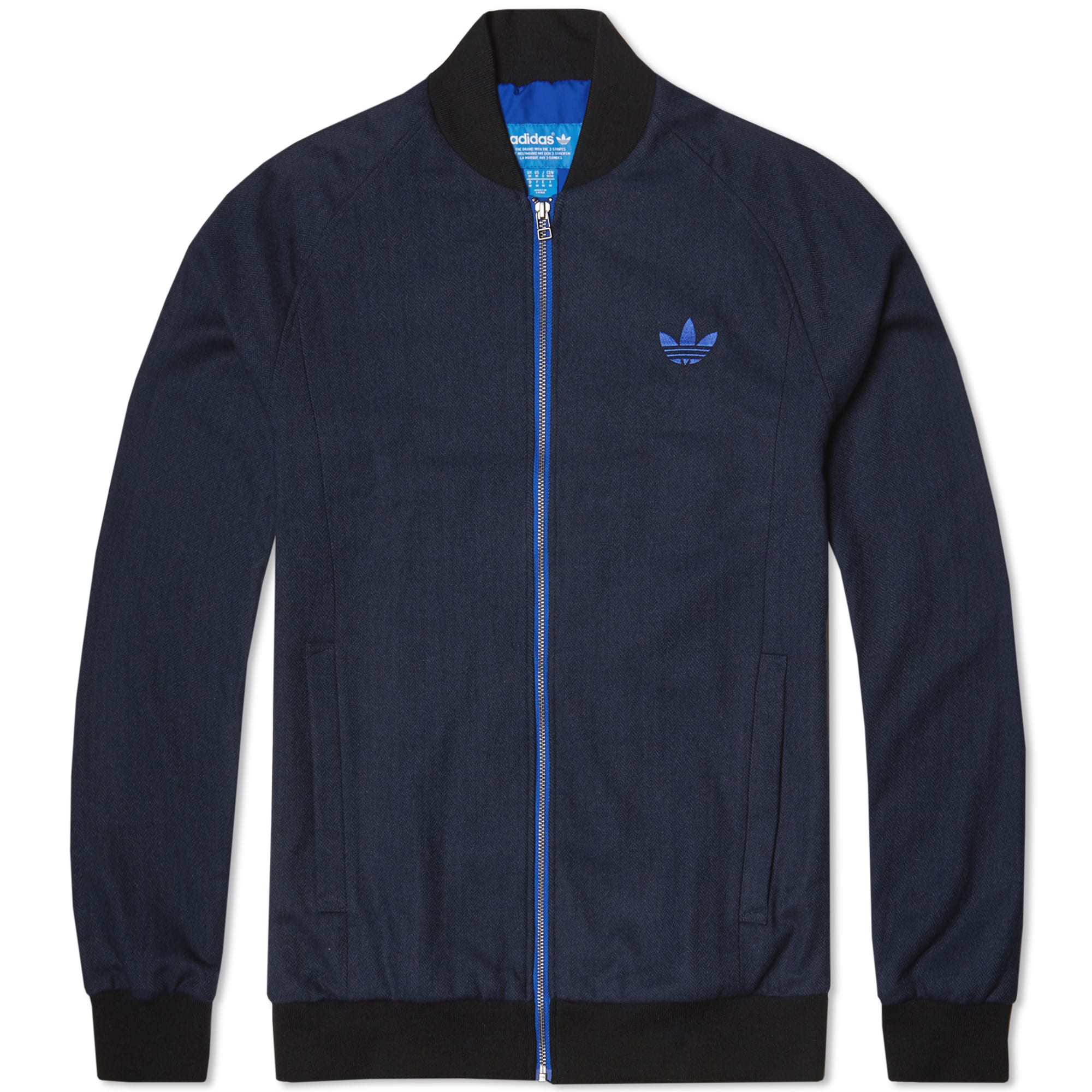 adidas tweed superstar jacket collegiate navy. Black Bedroom Furniture Sets. Home Design Ideas