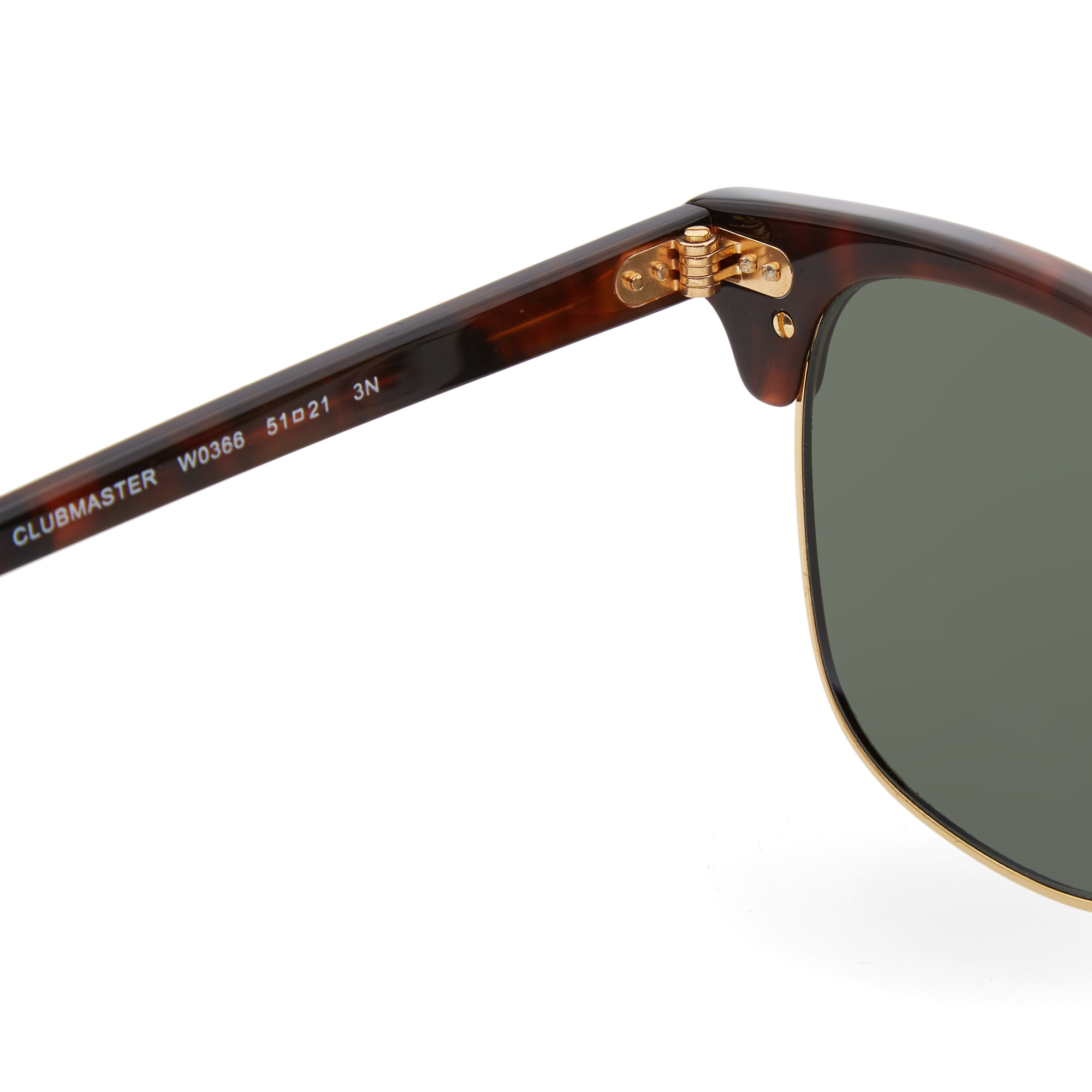 Ray Ban Clubmaster Tortoise Sunglasses Rb3016 W0366 | Louisiana ...
