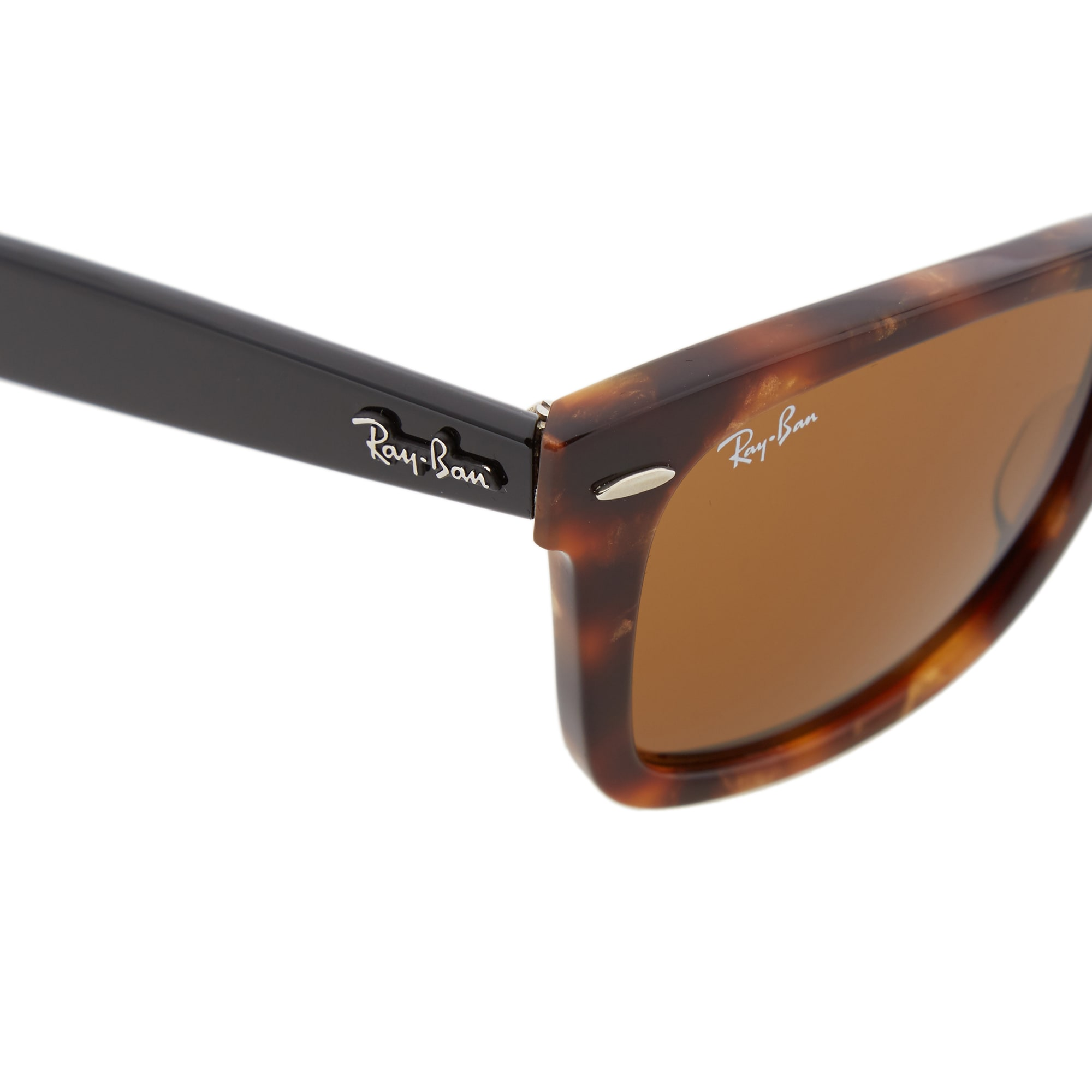 2e286ceb10 Ray Ban Original Wayfarer Fleck Sunglasses (Spotted Brown Havana   Brown)