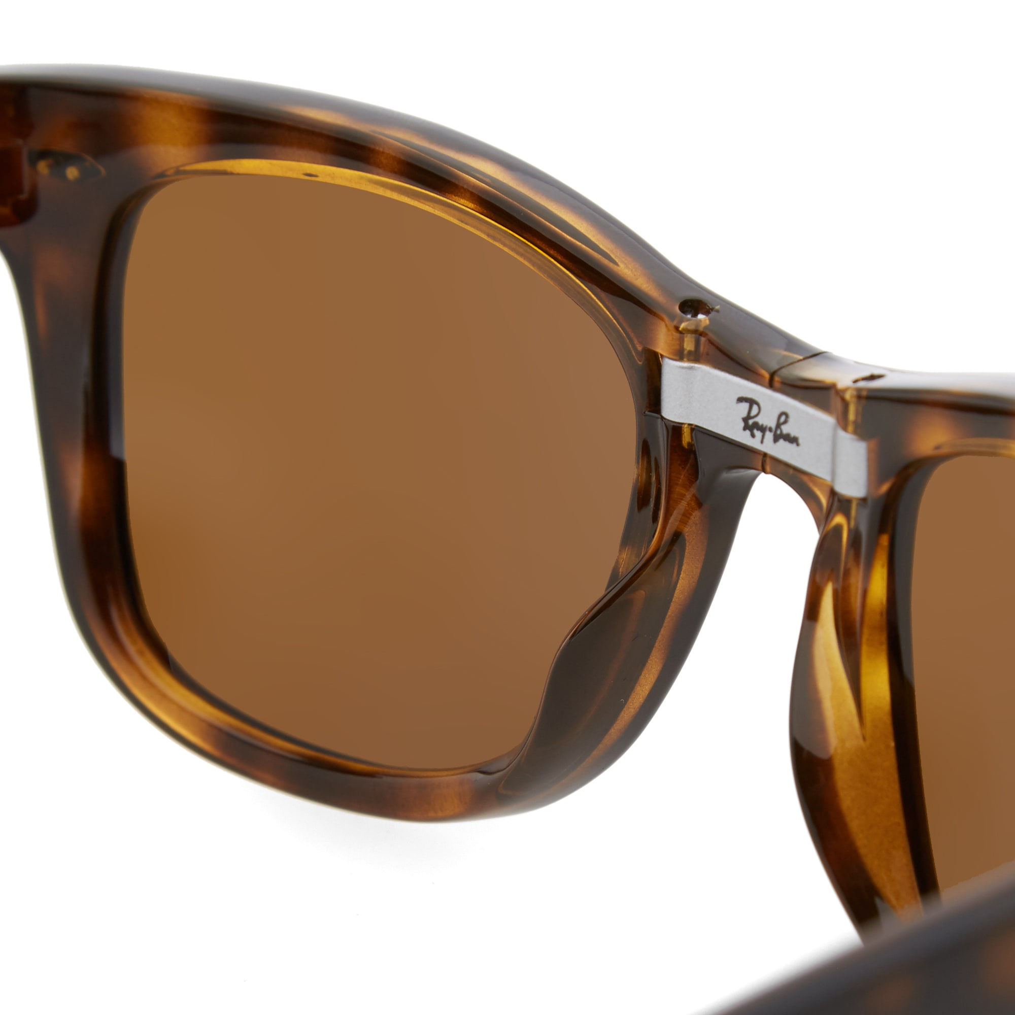 0a416c57435 Ray Ban Wayfarer Folding Sunglasses Light Havana   Brown