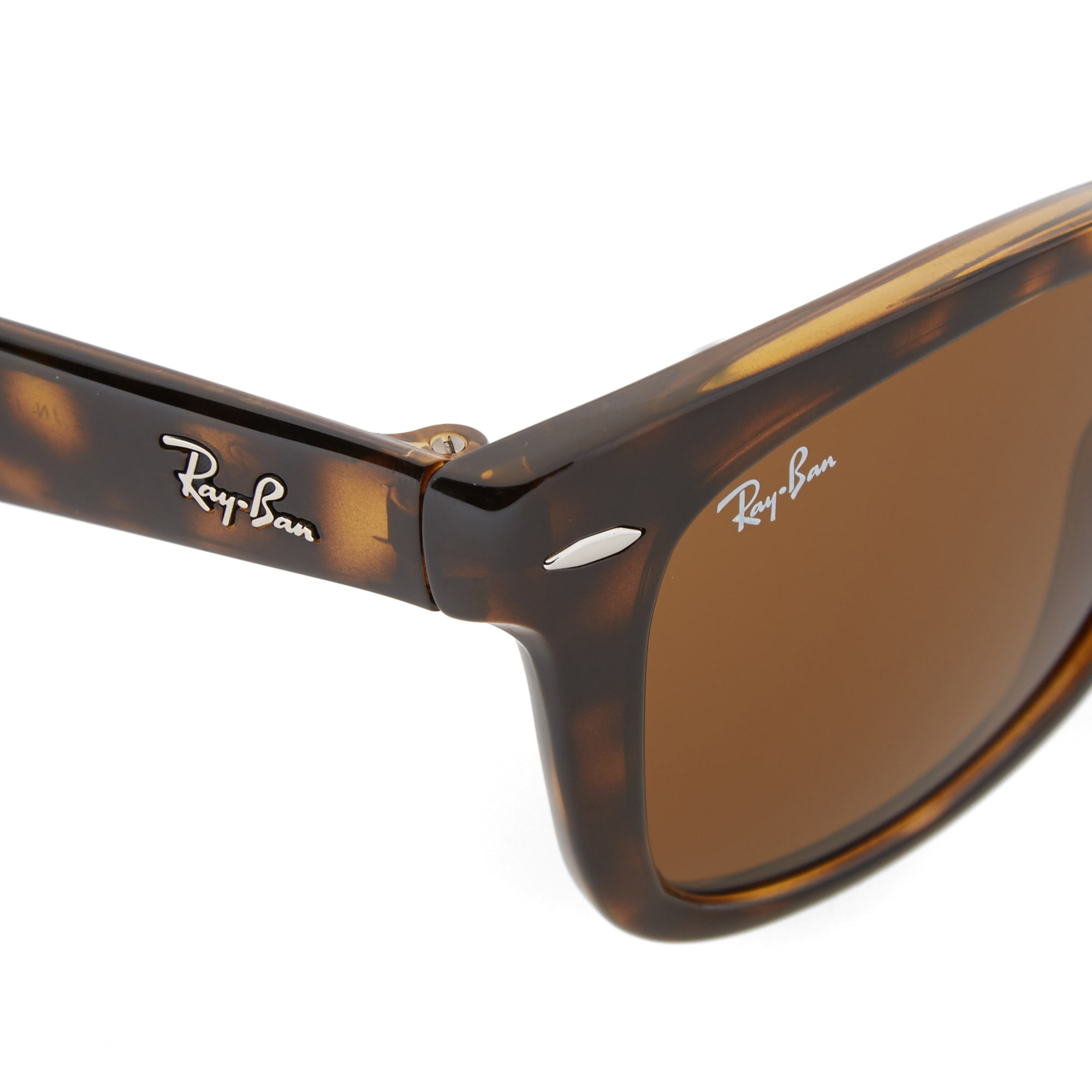 07d5ba7cefc Ray Ban Wayfarer Folding Sunglasses (Light Havana   Brown)