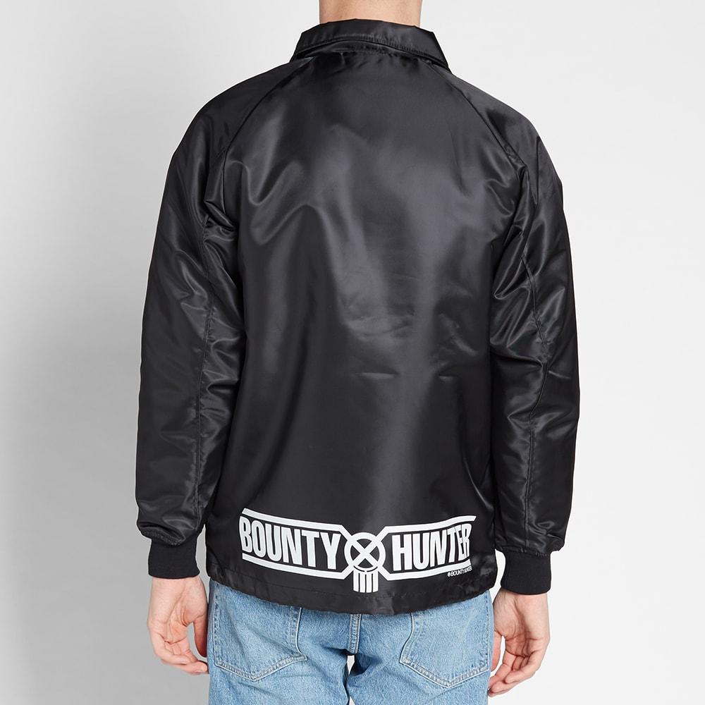 d670d7919c742 Bounty Hunter Logo Coach Jacket Black | END.