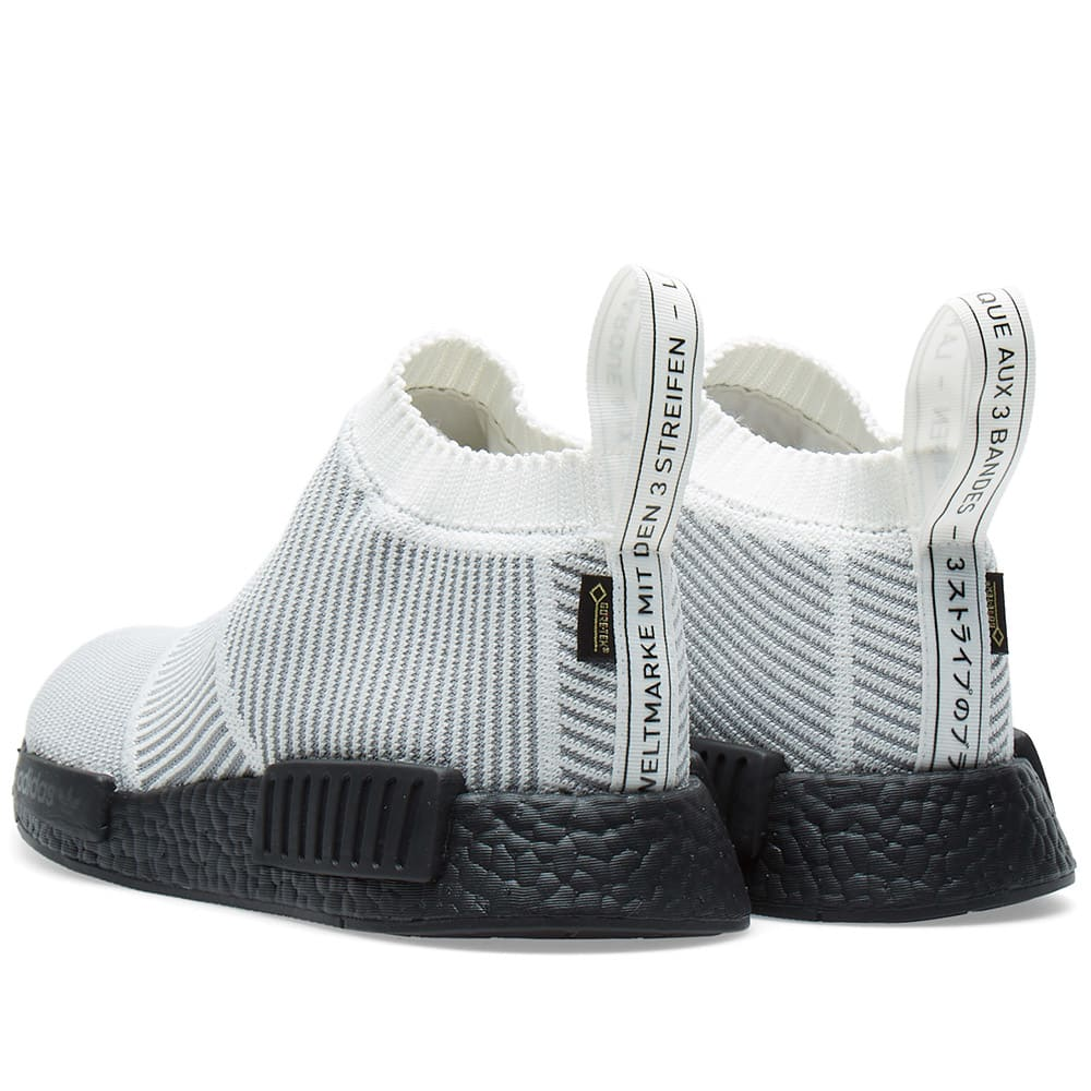 9b6784dba Adidas NMD CS1 GTX PK Core White   Black