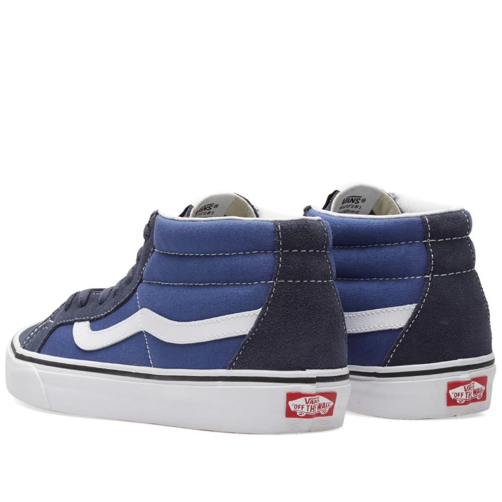 0a502c49ac5fe0 Vans Sk8-Mid Reissue Parisian Night   True Navy