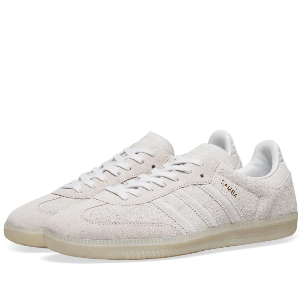 wholesale dealer aea76 afd49 Adidas Samba OG White, Crystal   Chalk Pearl   END.