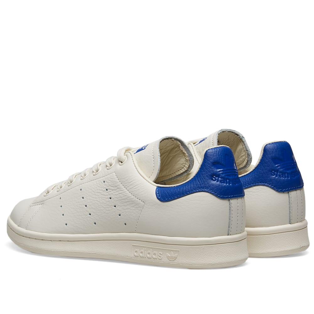 online store 1f818 2015f Adidas Stan Smith Premium Chalk White   Collegiate Royal   END.