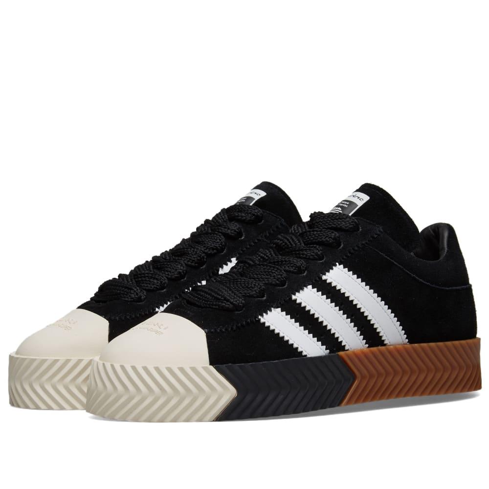 low priced 863ae 6f541 Adidas Originals by Alexander Wang Skate Super Black   White   END.