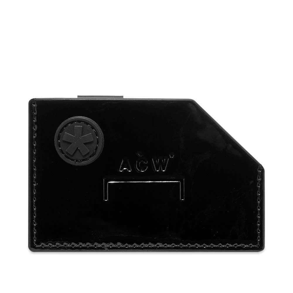 A-Cold-Wall* Accessories A-COLD-WALL* Die Cut Patent Card Holder