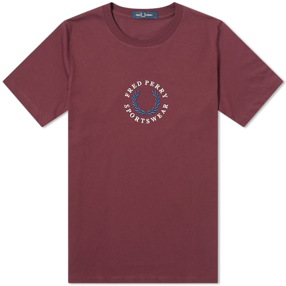 Fred Perry Tops Fred Perry Embroidered Logo Tee