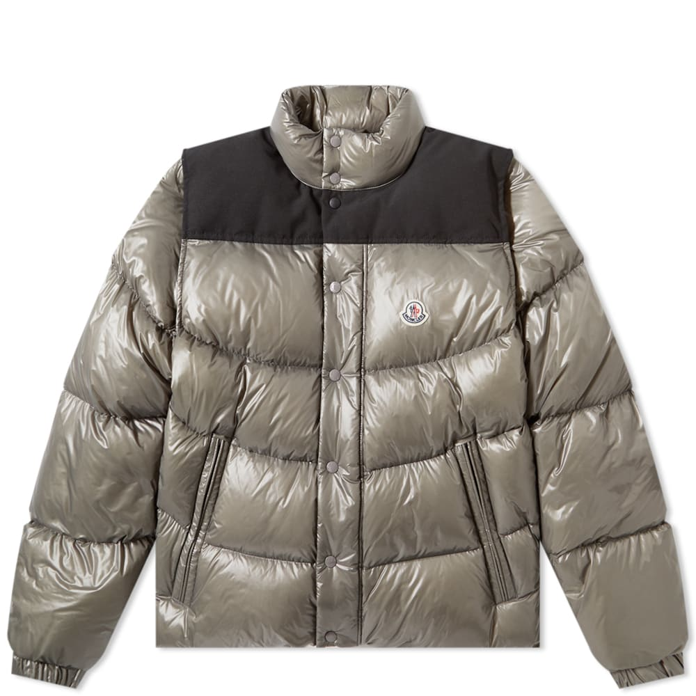 Moncler Moncler Leschaux Removable Sleeve Down Jacket