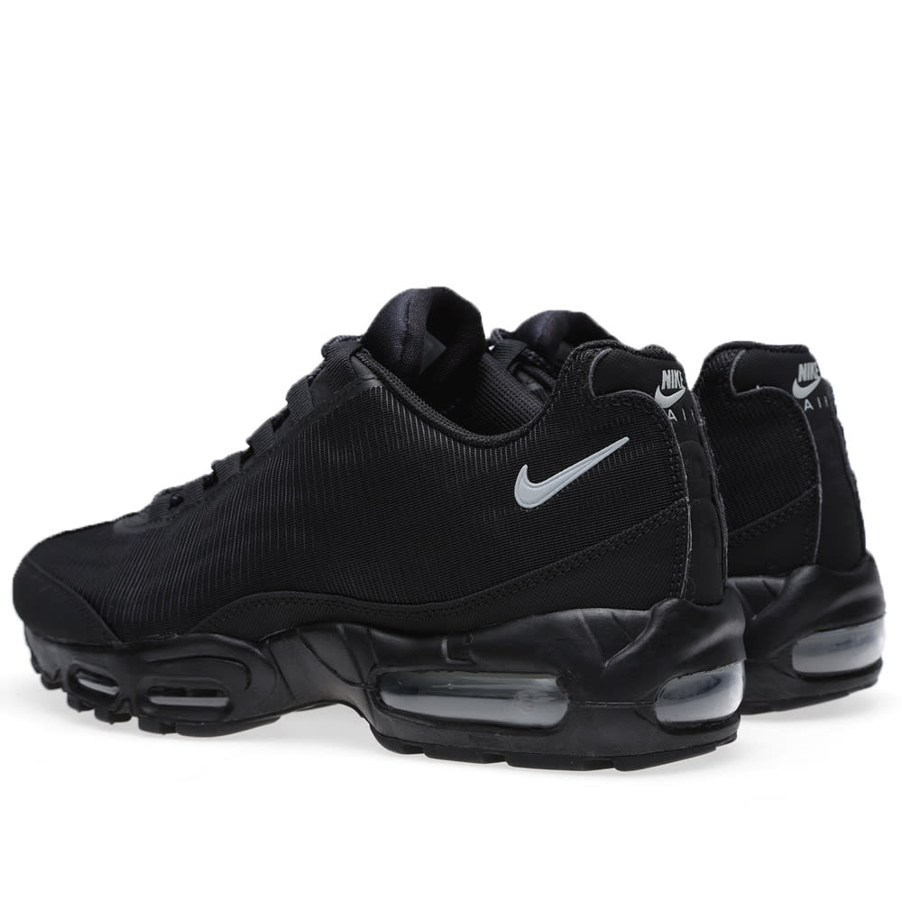 the latest 30a6b 89bb0 Nike Air Max 95 Comfort Premium Tape  Reflective Pack . Black   Silver