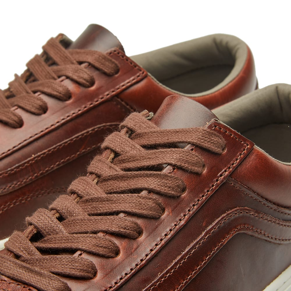 bab913818400eb Vans Vault x Horween Leather Co. Old Skool Cup LX Bone  12