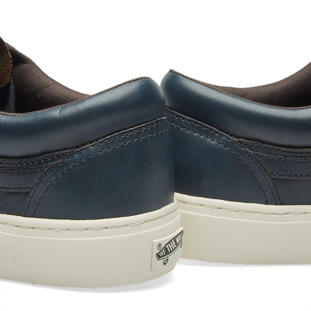 1ebb457789 Vans Vault x Horween Leather Co. Old Skool Cup LX Navy