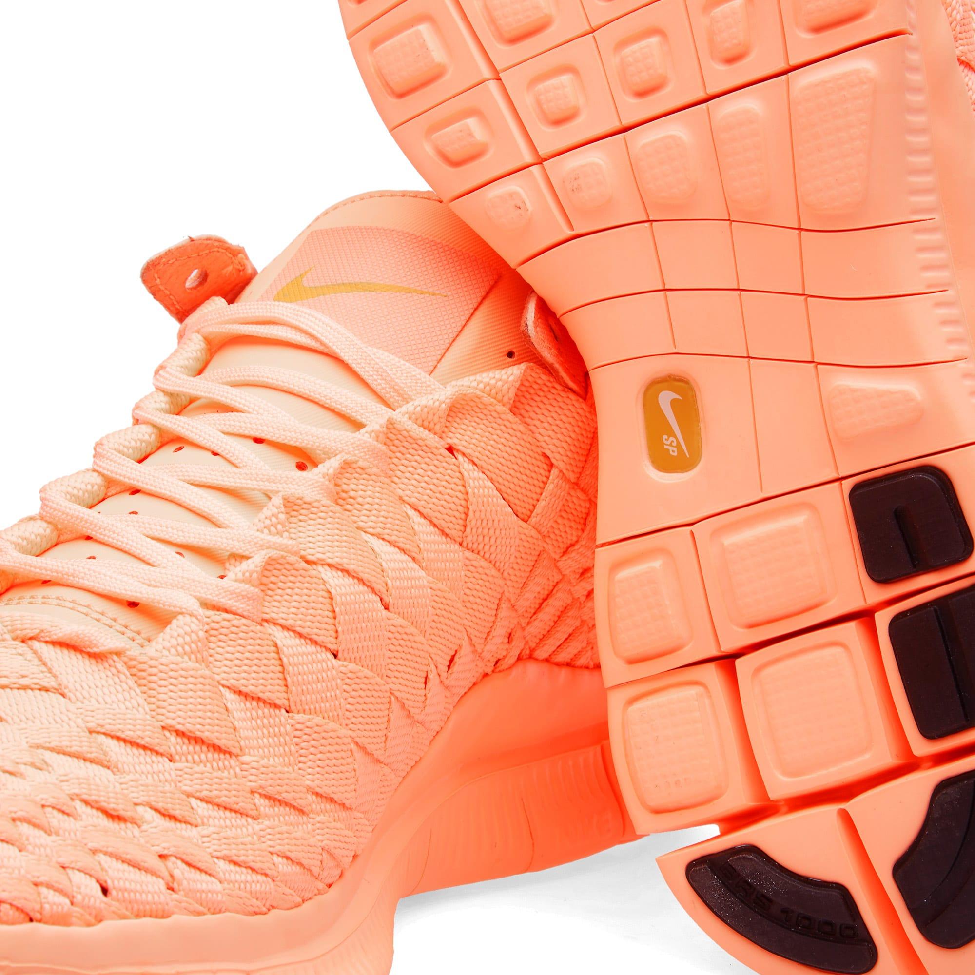 official photos 1f643 96617 Nike Free Inneva Woven Tech SP Sunset Glow   Kumquat   END.