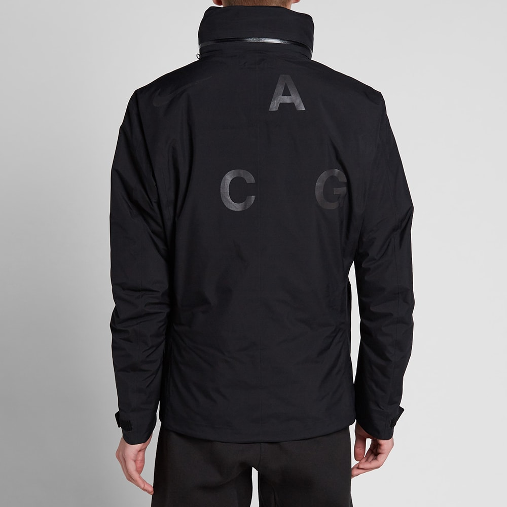 0d7d26d34f38 NikeLab ACG 2 in 1 System Jacket Black