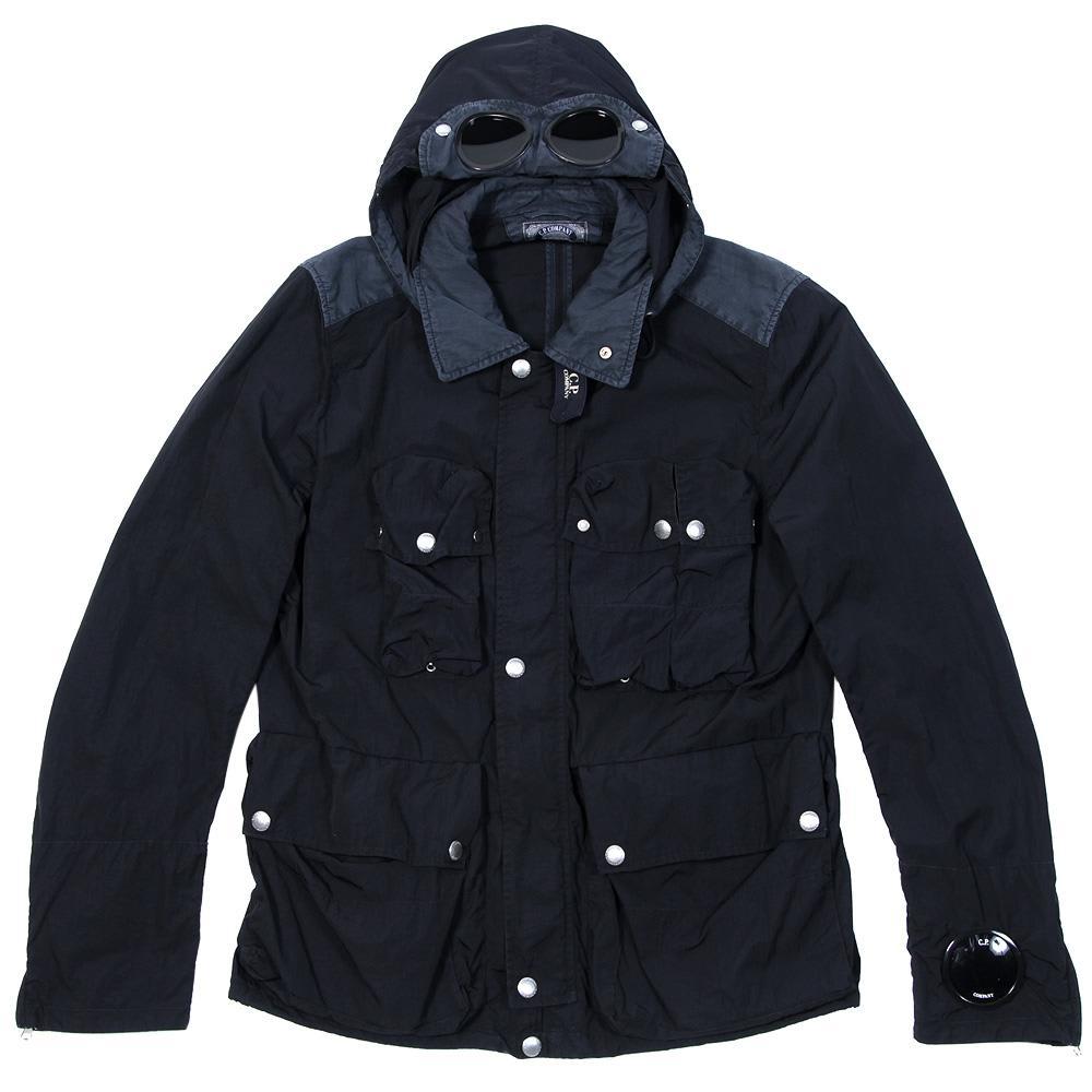 6a9572bdd C.P. Company Garment Dyed Multi Pocket Goggle Jacket