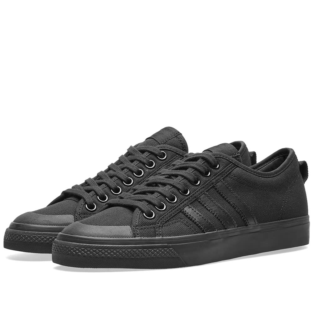 hot sale online 88479 b4fc1 ADIDAS ORIGINALS ADIDAS NIZZA, BLACK
