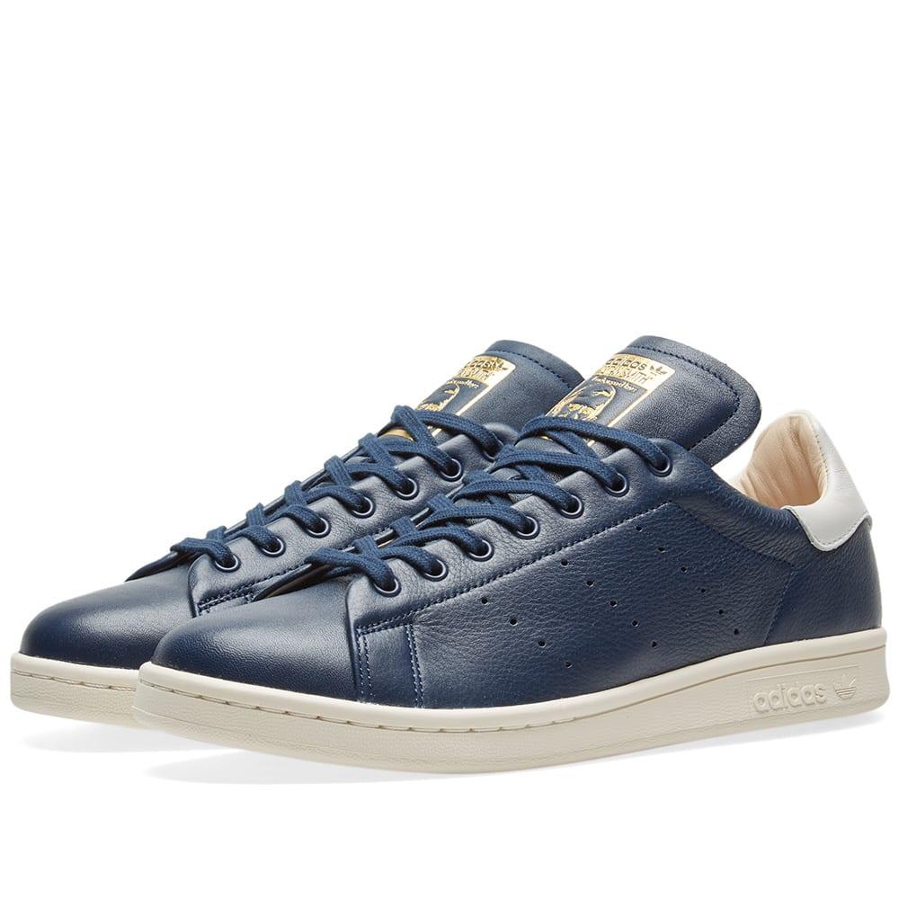 e54a9a1a32679 Adidas Stan Smith Recon Collegiate Navy   White