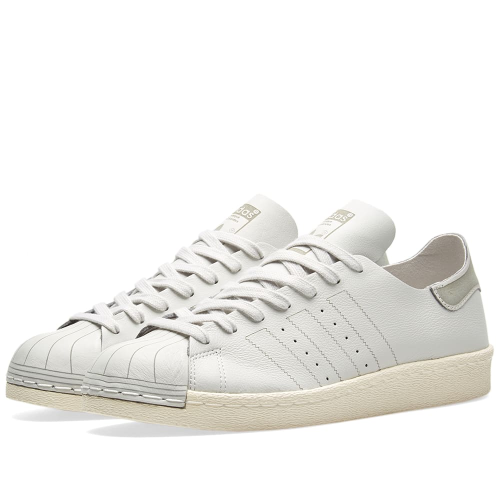 buy online f7aaa 46a12 Adidas Superstar 80s Decon W Grey One   Off White   END.
