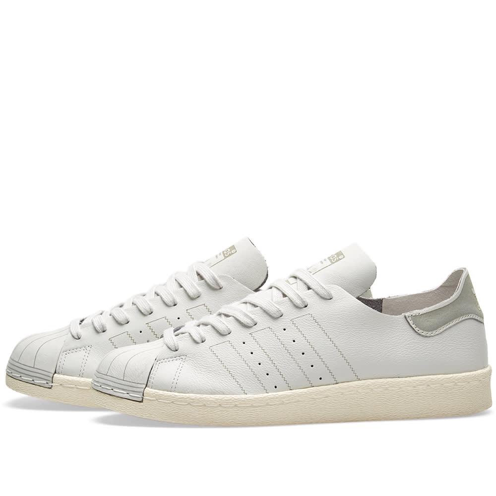 10290c4a7c0 Adidas Superstar 80s Decon W Grey One   Off White