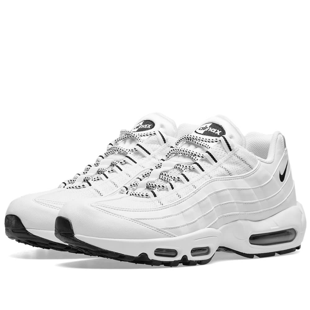 low priced 4dcb0 70b5a Nike Air Max 95 White   Black   END.