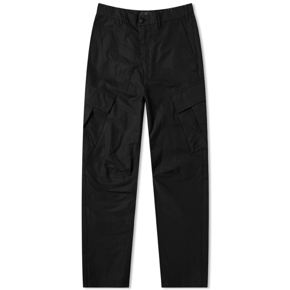 Stone Island Shadow Project Tie Up Cargo Pant Black End