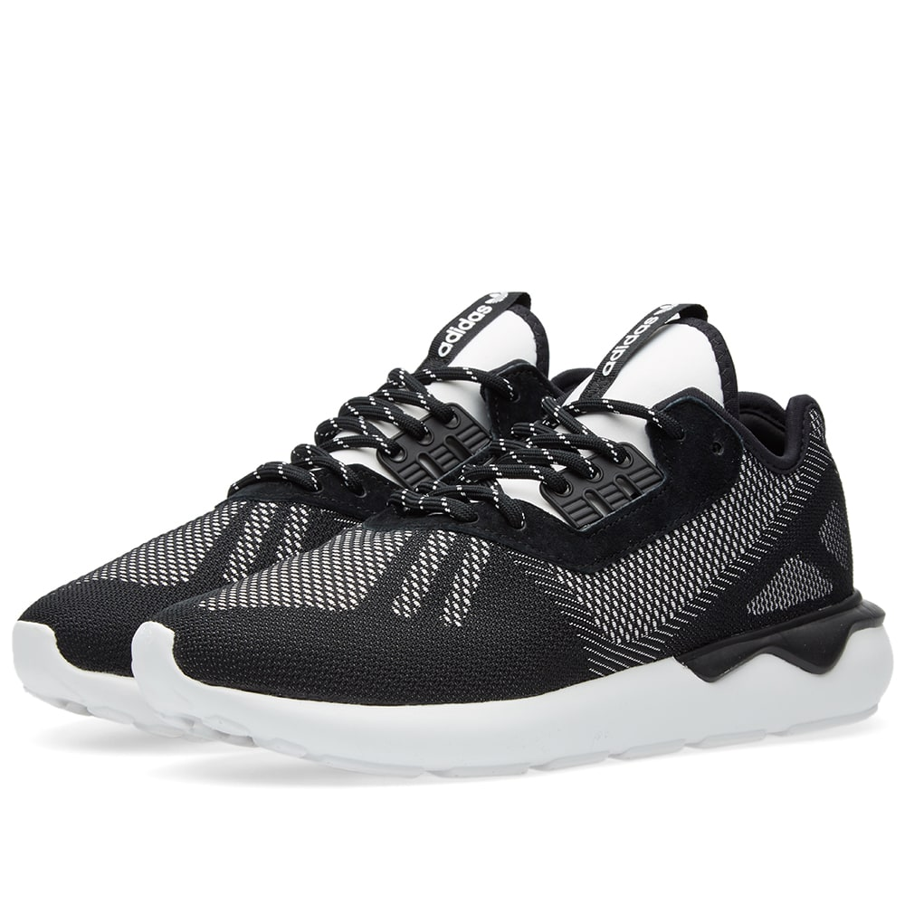 various colors fbd76 7d76f Adidas Tubular Runner Weave Core Black   White   END.