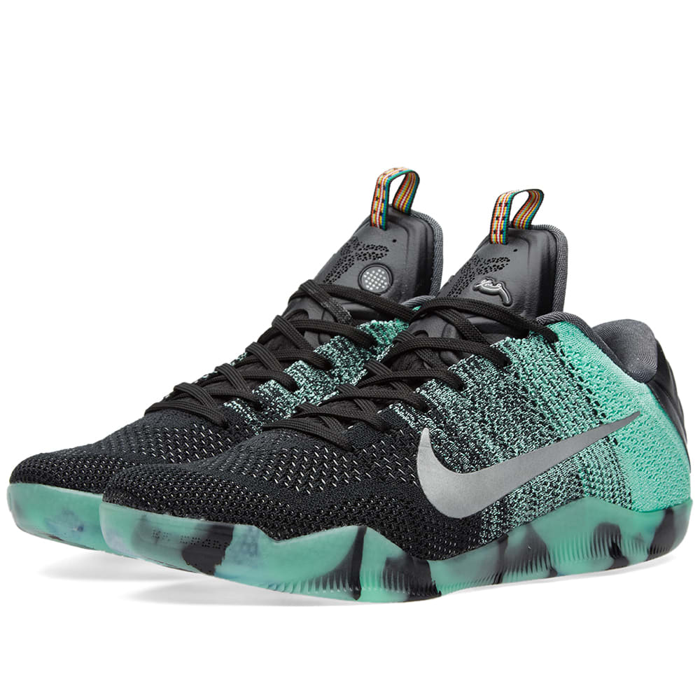 low priced 41620 da64b Nike Kobe XI Elite Low All Star Green Glow   Black   END.