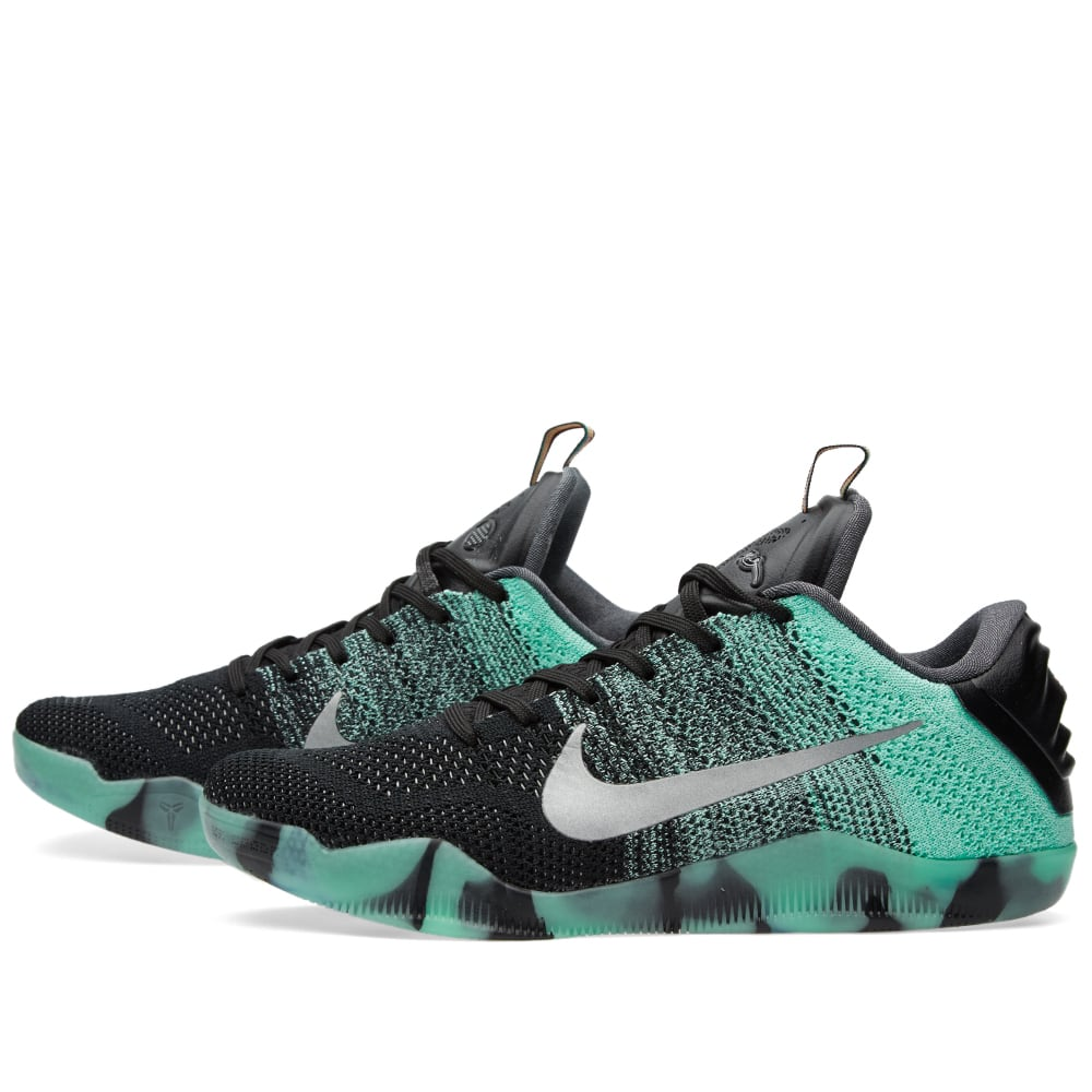 low priced 8354a 43293 Nike Kobe XI Elite Low All Star Green Glow   Black   END.