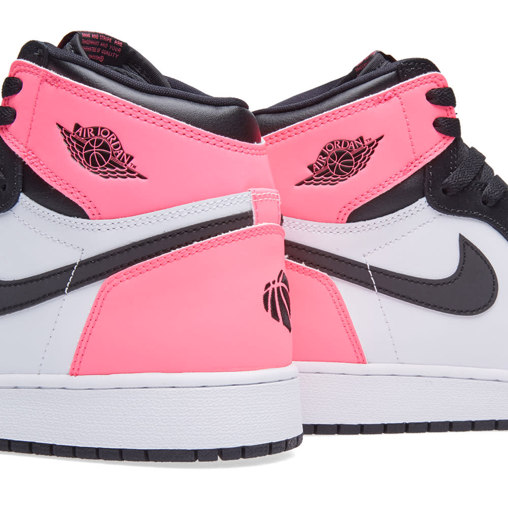 best website 6d51c 5367d Nike Air Jordan 1 Retro High OG GG. Black, Hyper Pink ...
