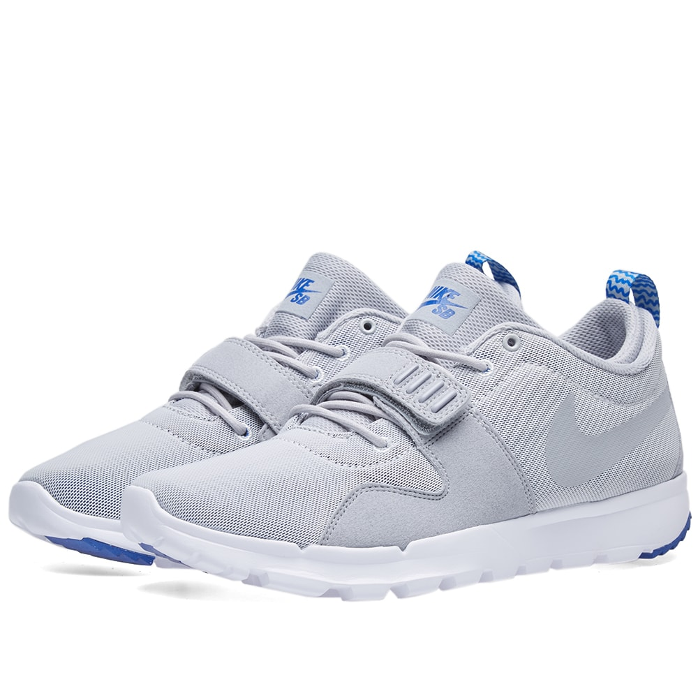 quality design 81cac f3c0c Nike SB Trainerendor Wolf Grey   White   END.