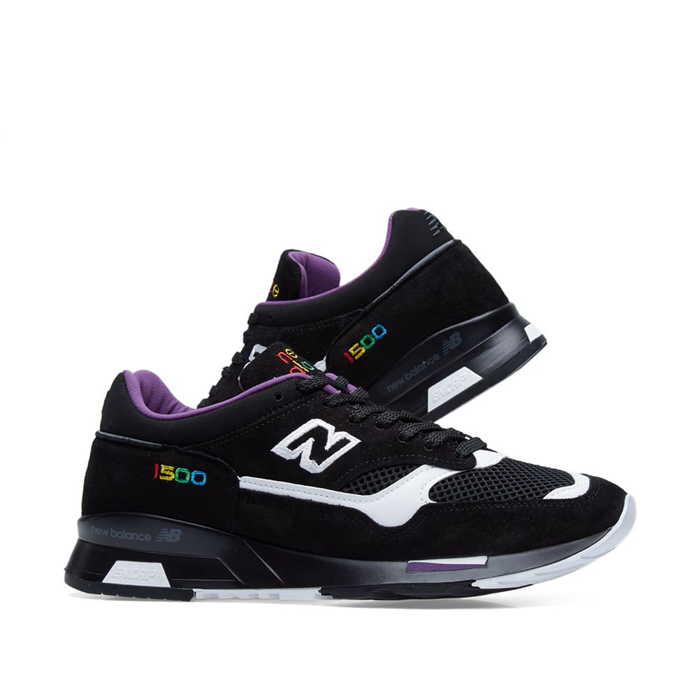 new style ef4af 493a3 New Balance M1500CPK Colour Prism - Made in England. Black