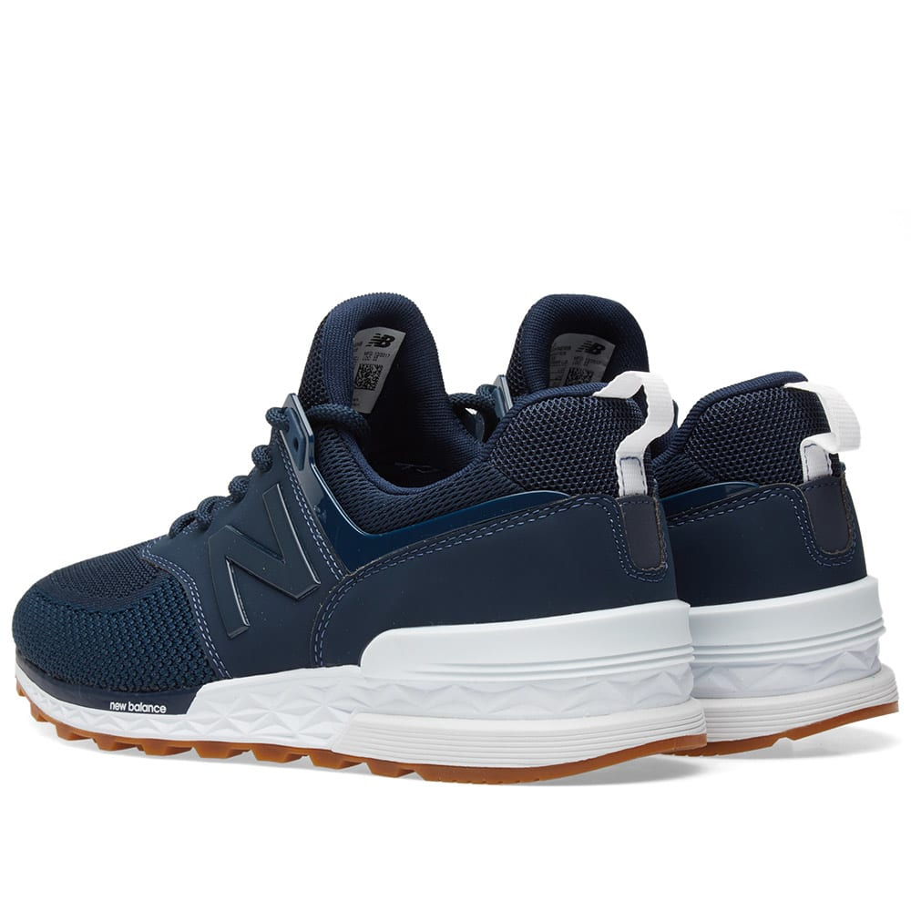 info for 9ccb6 005b1 New Balance MS574EMB Navy   END.