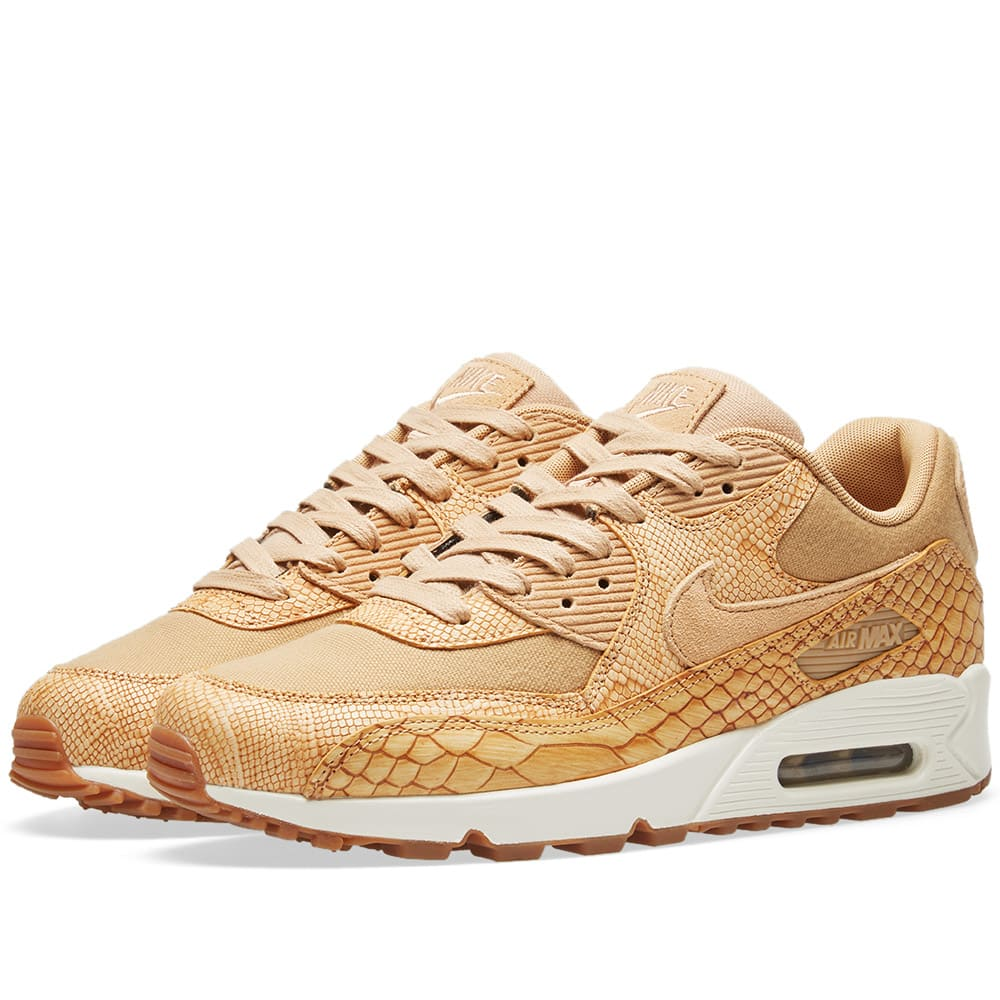 Nike Air Max 90 Premium Sneakers Brown