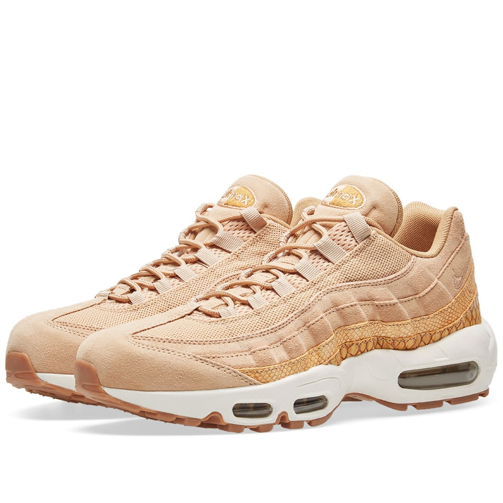 wholesale dealer edd89 ba54a Nike Air Max 95 Premium SE Vachetta Tan   Gold   END.