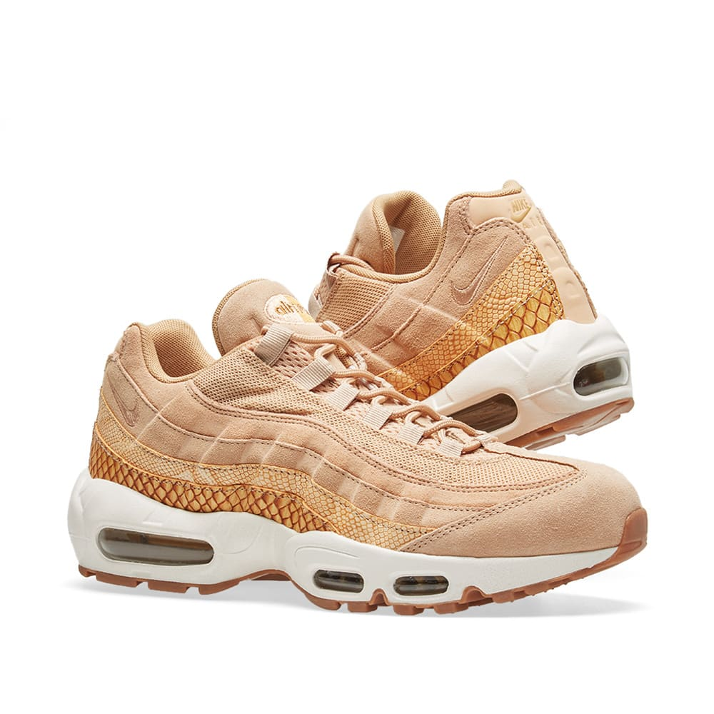996c3e3efca0cd Nike Air Max 95 Premium SE Vachetta Tan   Gold